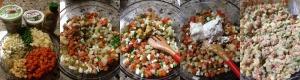 No Mayo Cold Vegetable Egg Salad slide