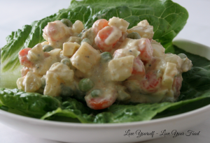 No Mayo Vegetable Egg Salad