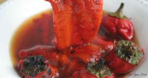 Roasted Red Pepper Salad 1